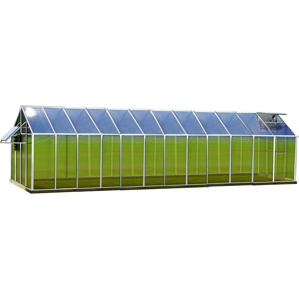 8 ft. x 24 ft. Aluminum Mojave Greenhouse