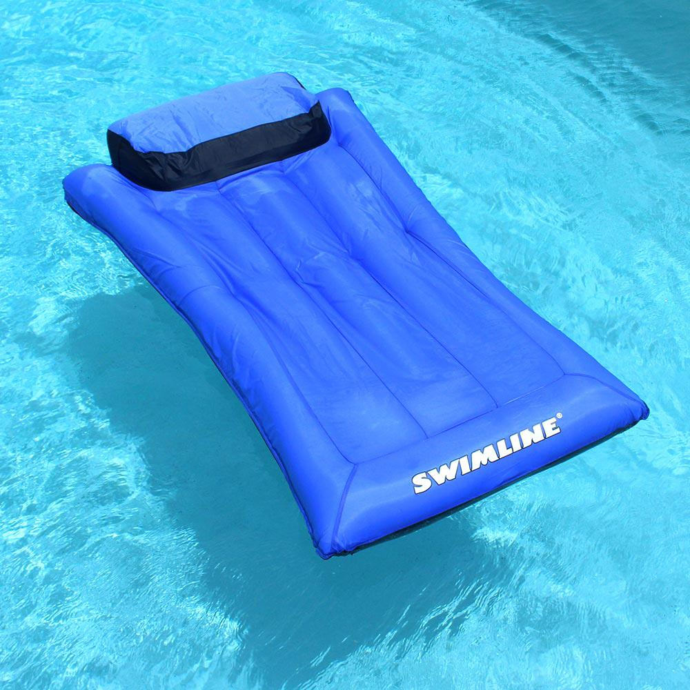 Swimline Ultimate Floating Pool Mattress, Blues