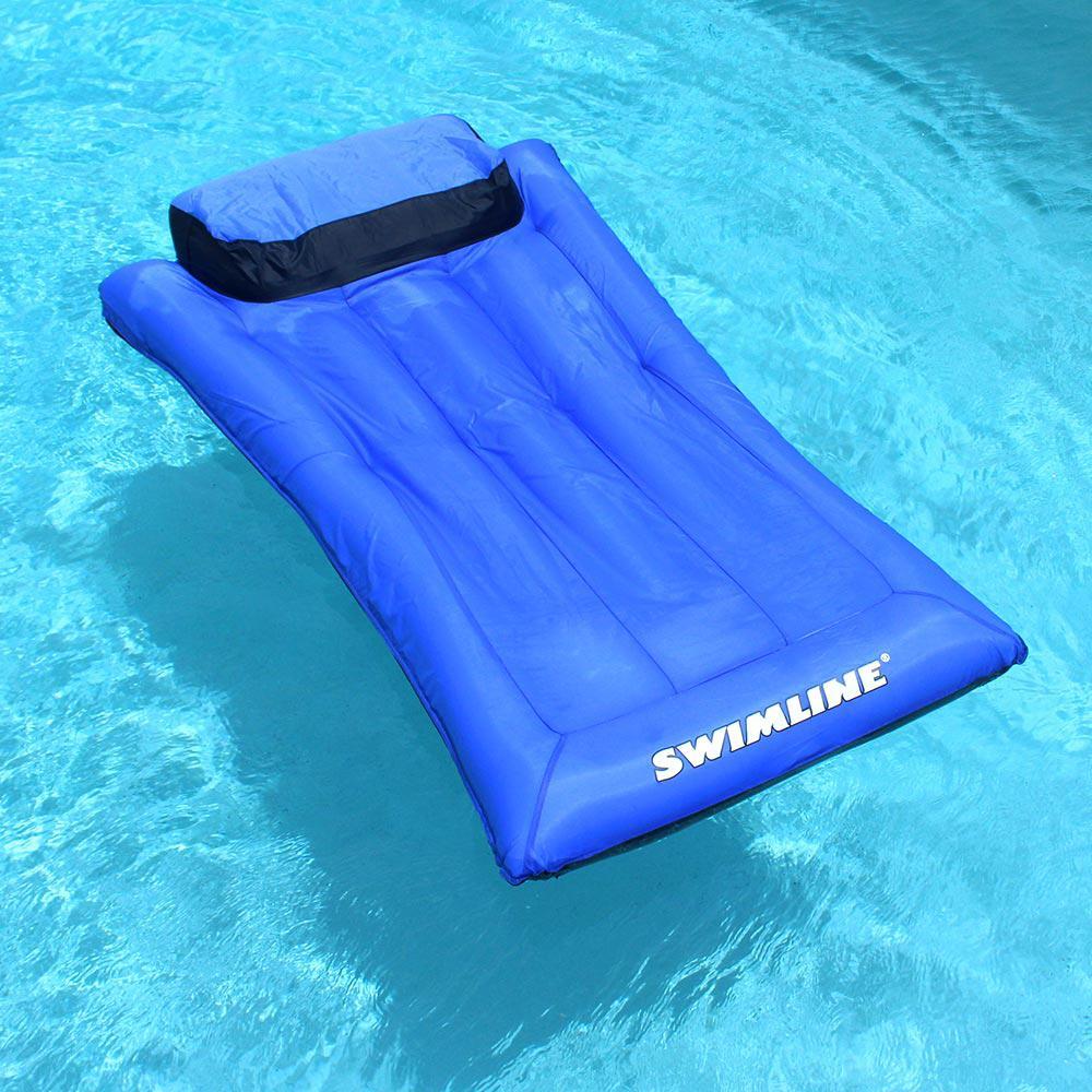 Swimline Ultimate Floating Pool Mattress, Blue