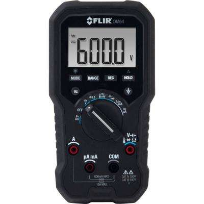 HVAC TRMS Digital Multimeter with Temperature