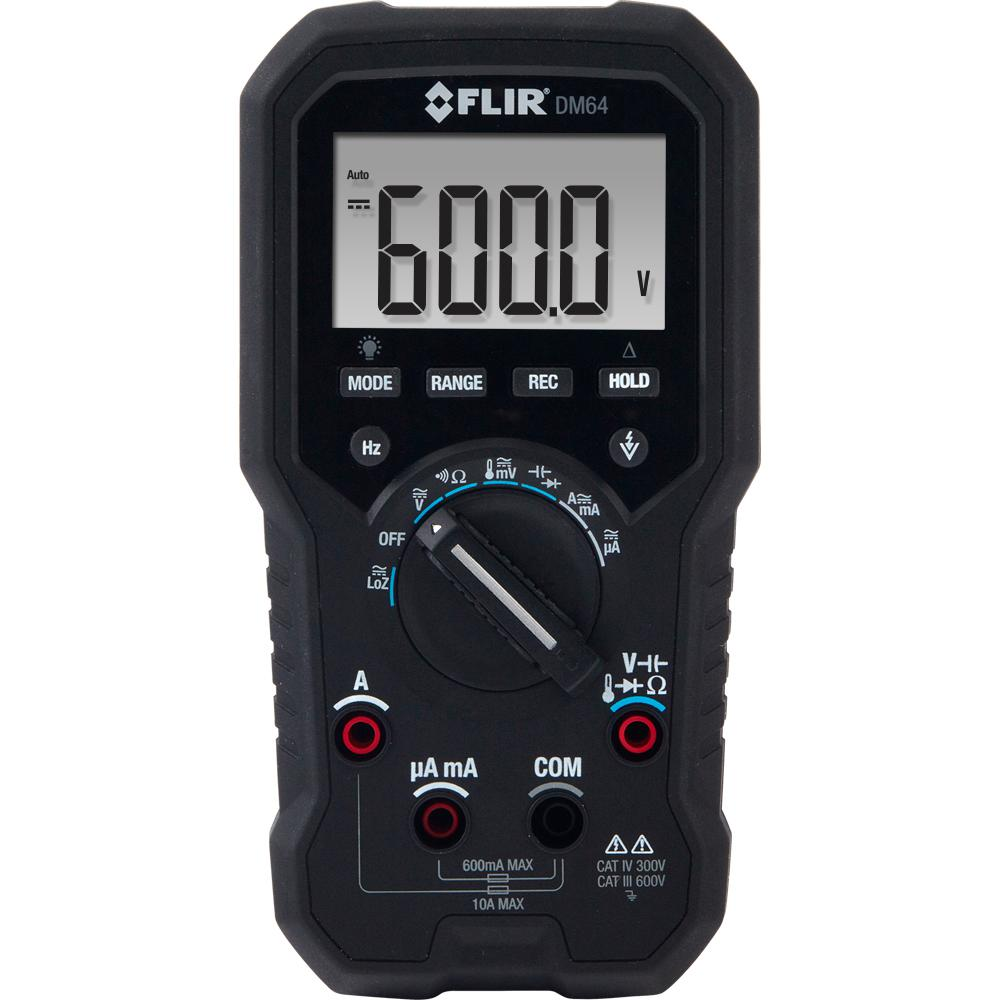 HVAC TRMS Digital Multimeter with Temperature and NIST