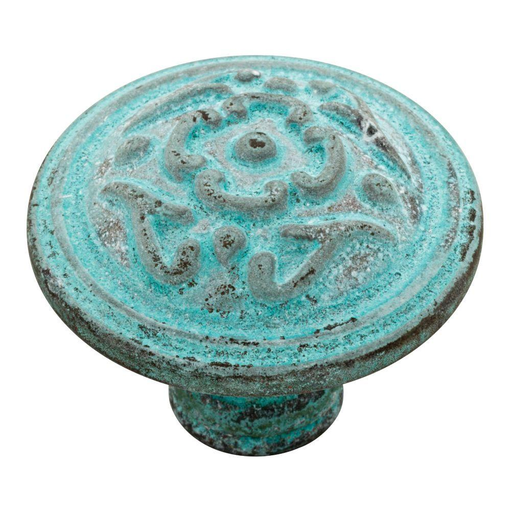 Blue - Cabinet Knobs - Cabinet Hardware - The Home Depot