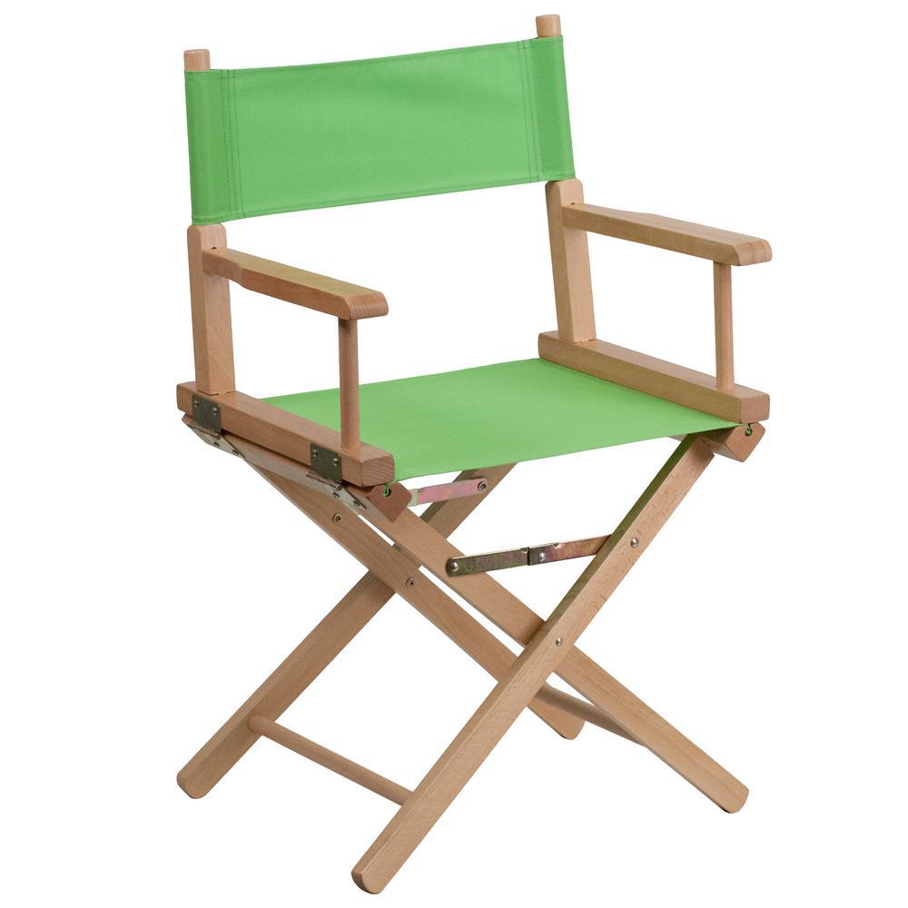 Standard Height Directors Green Chair