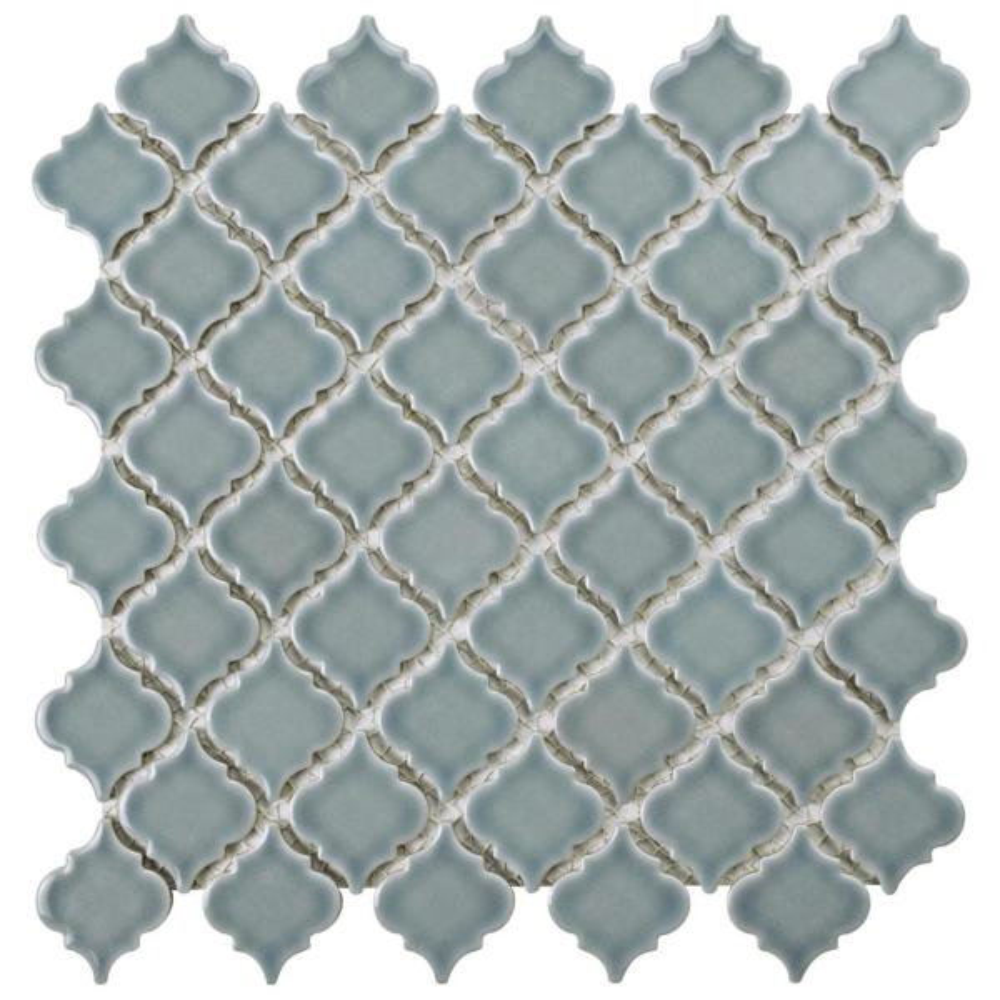 Hudson Tangier Slate 12 in. x 12 in. Porcelain Mosaic Tile (10.96 sq. ft. / Case)