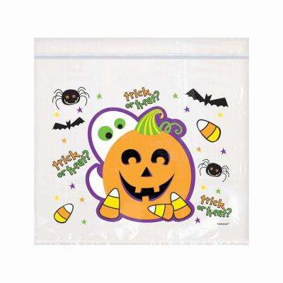 6.5 in. x 7 in. Halloween Re-Sealable Cello Bag (30-Count, 3-Pack)