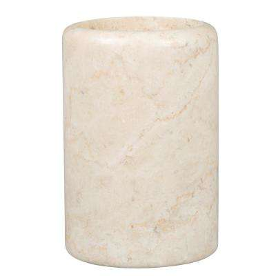 Spa Natural Marble Tumbler in Champagne Color