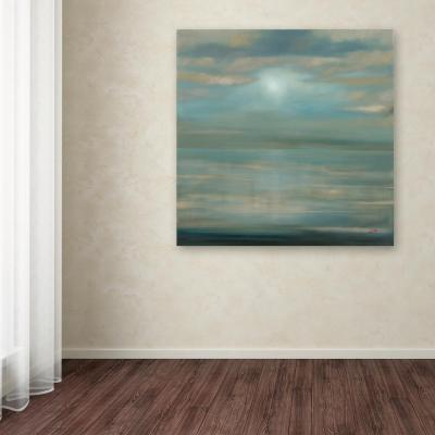 """35 in. x 35 in. """"Pacific Ocean"""" by Rio Printed Canvas Wall Art"""