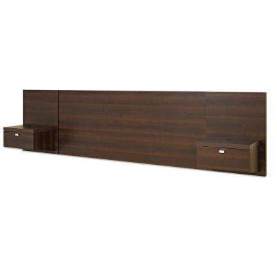 Wall Mounted Wood Beds Headboards Bedroom Furniture The