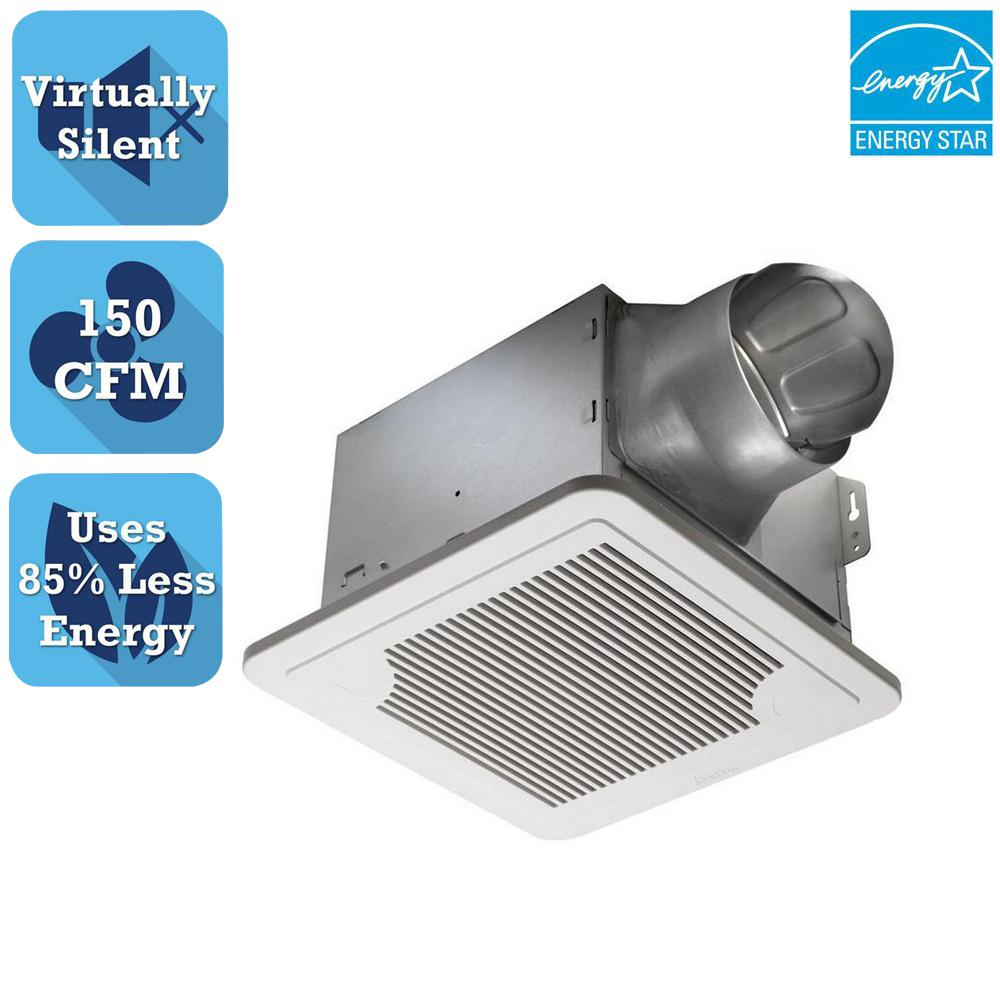 Delta Breez Smart Series CFM Ceiling Bathroom Exhaust Fan - Bathroom exhaust fan 150 cfm for bathroom decor ideas
