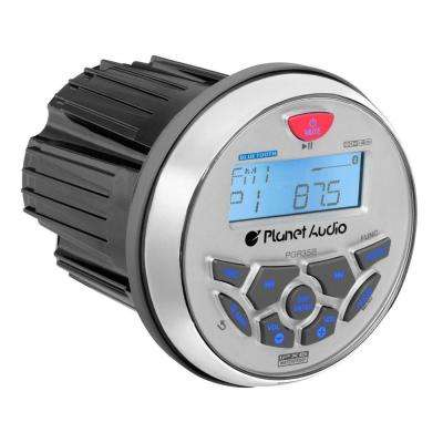 3.5 in. Marine MP3/Radio Bluetooth Boat Stereo Receiver