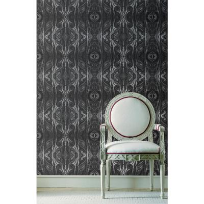 ABRA Collection Curl Removable and Repositionable Wallpaper
