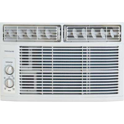 8,000 BTU 115-Volt Window-Mounted Mini-Compact Air Conditioner with Mechanical Controls