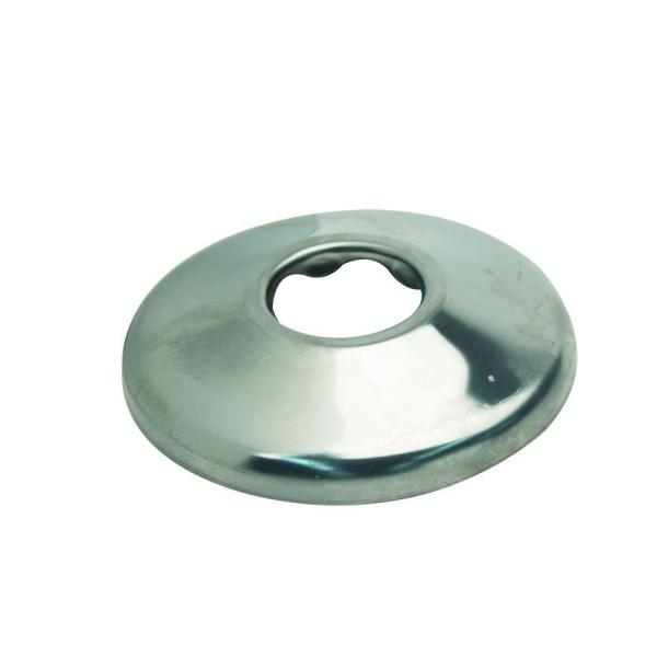 1/2 in. IPS Shallow Escutcheon in Chrome (2-Pack)