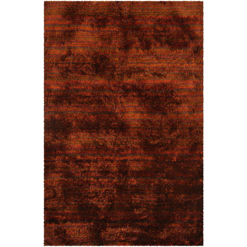 Savona Red/Orange/Brown 5 ft. x 7 ft. 6 in. Indoor Area Rug