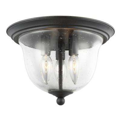Morill 3-Light Blacksmith Flush Mount