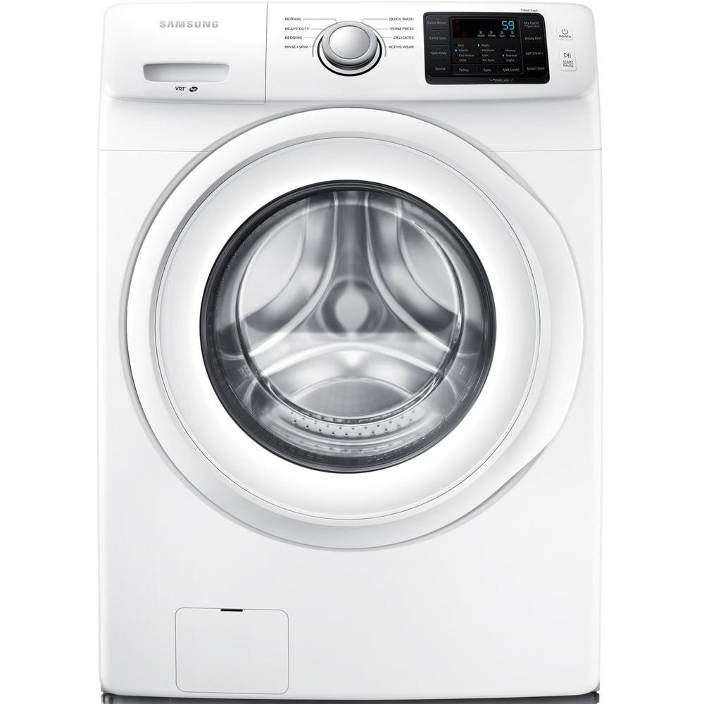 front load washer in white energy