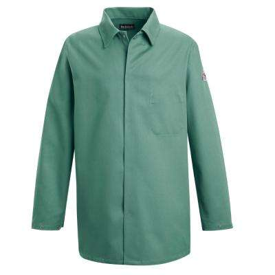 EXCEL FR Men's Medium Visual Green Work Coat