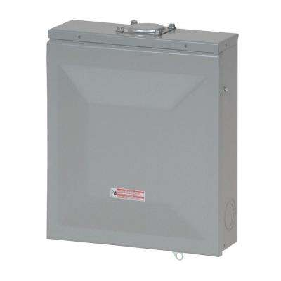 CH 125 Amp 4-Space 8-Circuit Outdoor Main Lug Loadcenter with Cover