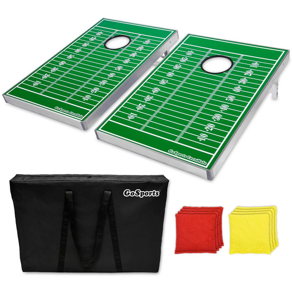 3 ft. x 2 ft. Football Edition Cornhole Bean Bag Toss
