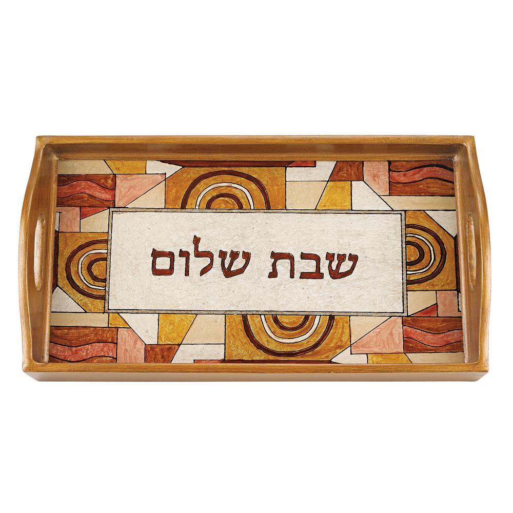 18 in. x 12 in. Shabbat Rectangle Tray