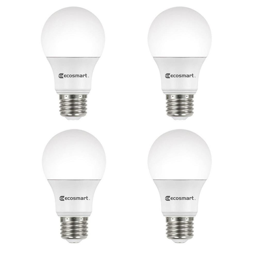 Watt Dimmable Daylight4 A19 Led Pack Equivalent Non Light Ecosmart 100 Bulb DH2IE9
