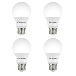 100-Watt Equivalent A19 Non-Dimmable LED Light Bulb Daylight (4-Pack)