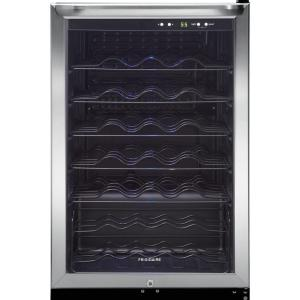 Click here to buy Frigidaire 42-Bottle Wine Cooler in Stainless Steel by Frigidaire.