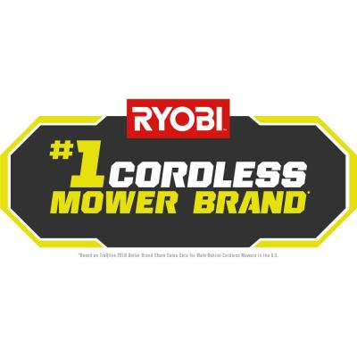 20 in. 40-Volt Brushless Lithium-Ion Cordless Battery Walk Behind Push Lawn Mower & Blower with 6.0 Ah Battery & Charger