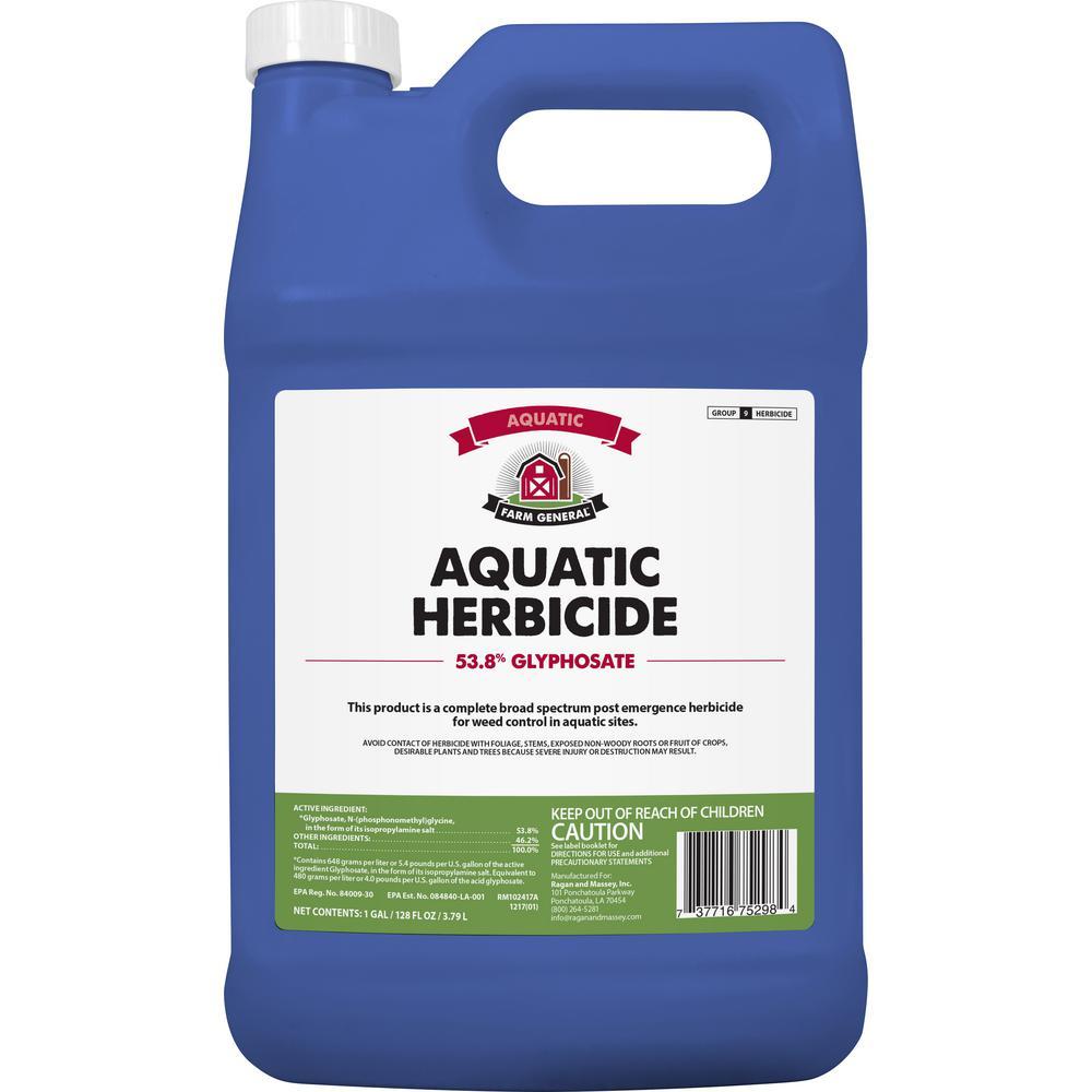 1 Gal  Aquatic Herbicide 53 8% Glyphosate Concentrate