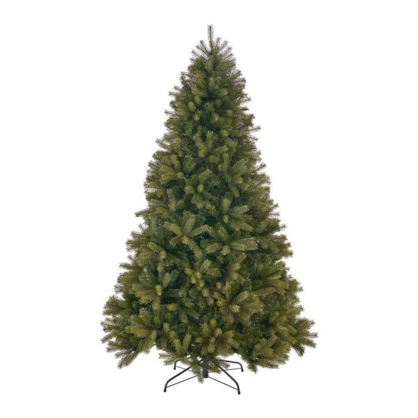 9 ft. Unlit Mixed Spruce Artificial Christmas Tree