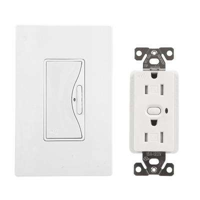 Aspire Z-Wave Anyplace Kit (RF9575AW Switch and RFTR9505-TAW Receptacle), Alpine White