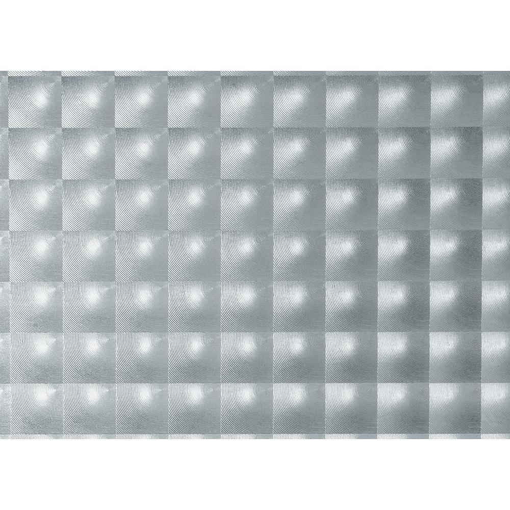 Prisma 59 in. x 59 in. Home Decor Self Adhesive Window Film (2-Pack)
