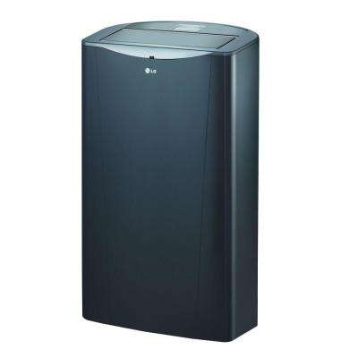 14,000 BTU Portable Air Conditioner and Dehumidifier Function with Remote in Graphite Gray