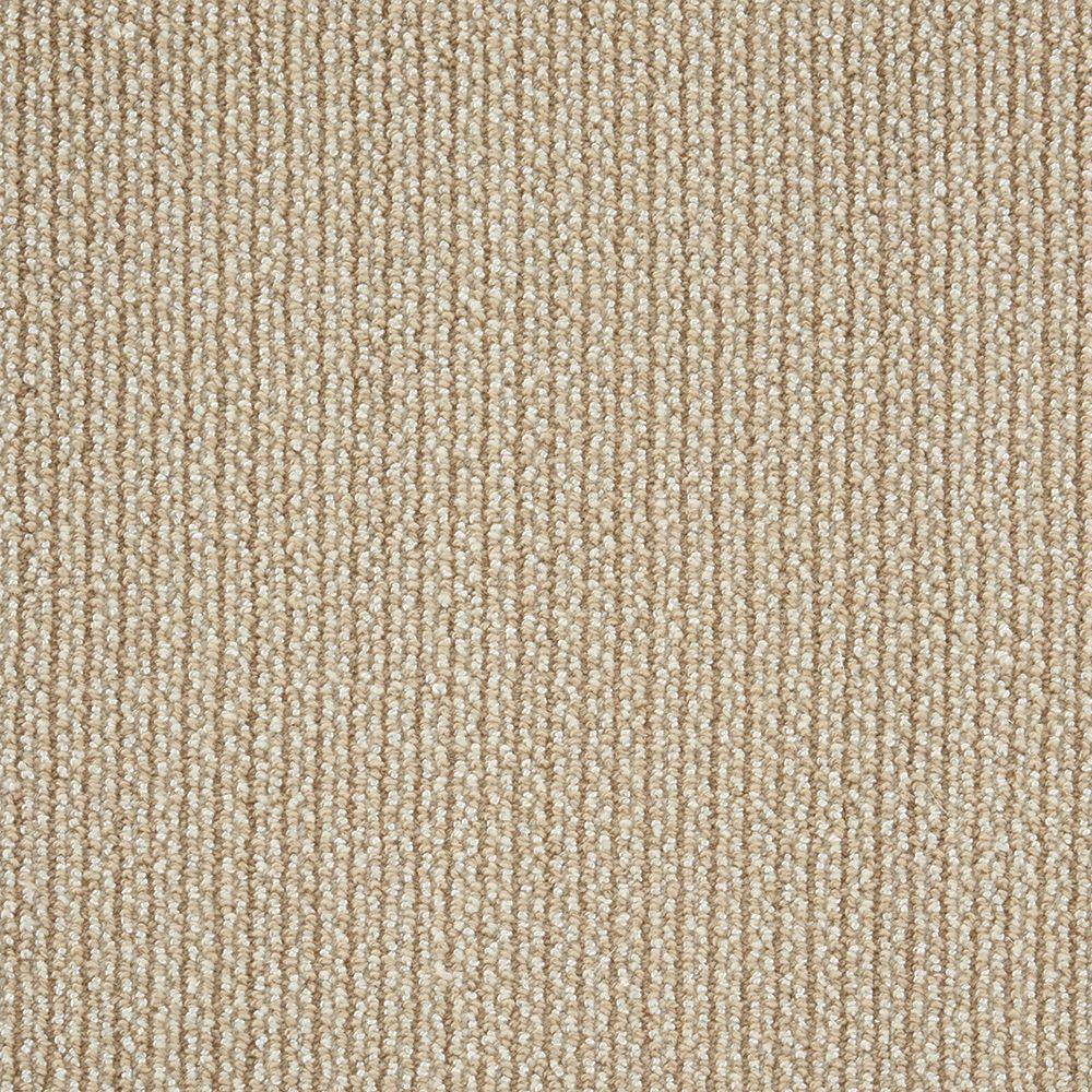 Natural Harmony Panorama Tweed Camel Custom Area Rug With