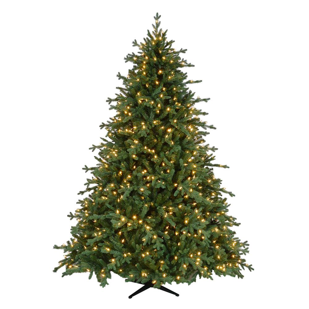 Home Accents Holiday 7.5 Ft. Pre-Lit LED Royal Spruce