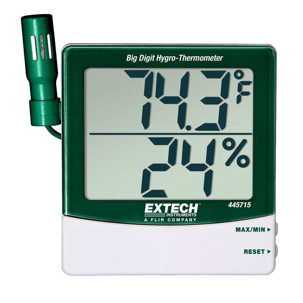 Big Digit Remote Probe Hygro-Thermometer