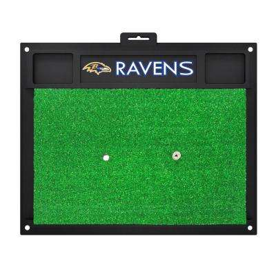 NFL Baltimore Ravens 17 in. x 20 in. Golf Hitting Mat
