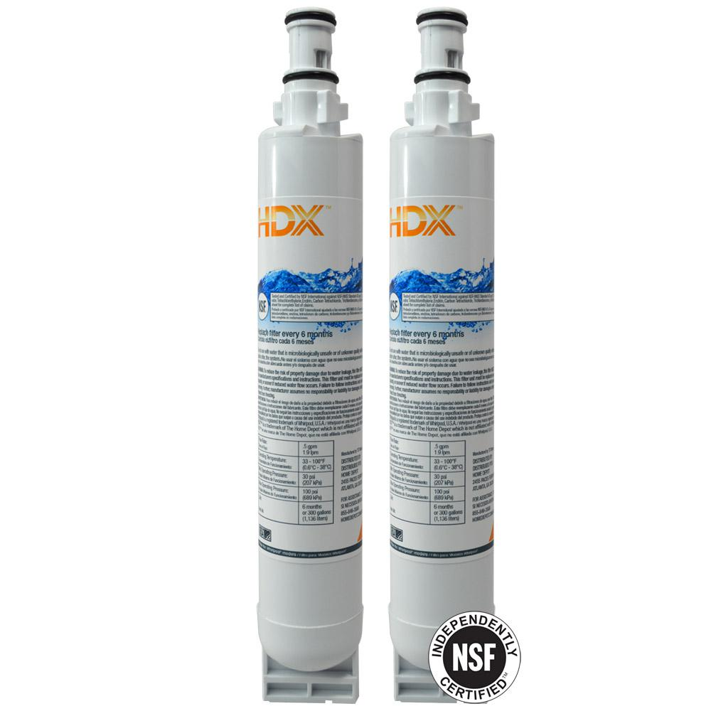 Hdx Fmw 3 Refrigerator Replacement Filter Fits Whirlpool
