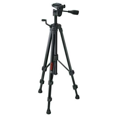 Compact Tripod with Extendable Height for Use with Bosch Line Lasers, Point Lasers, and Laser Measures