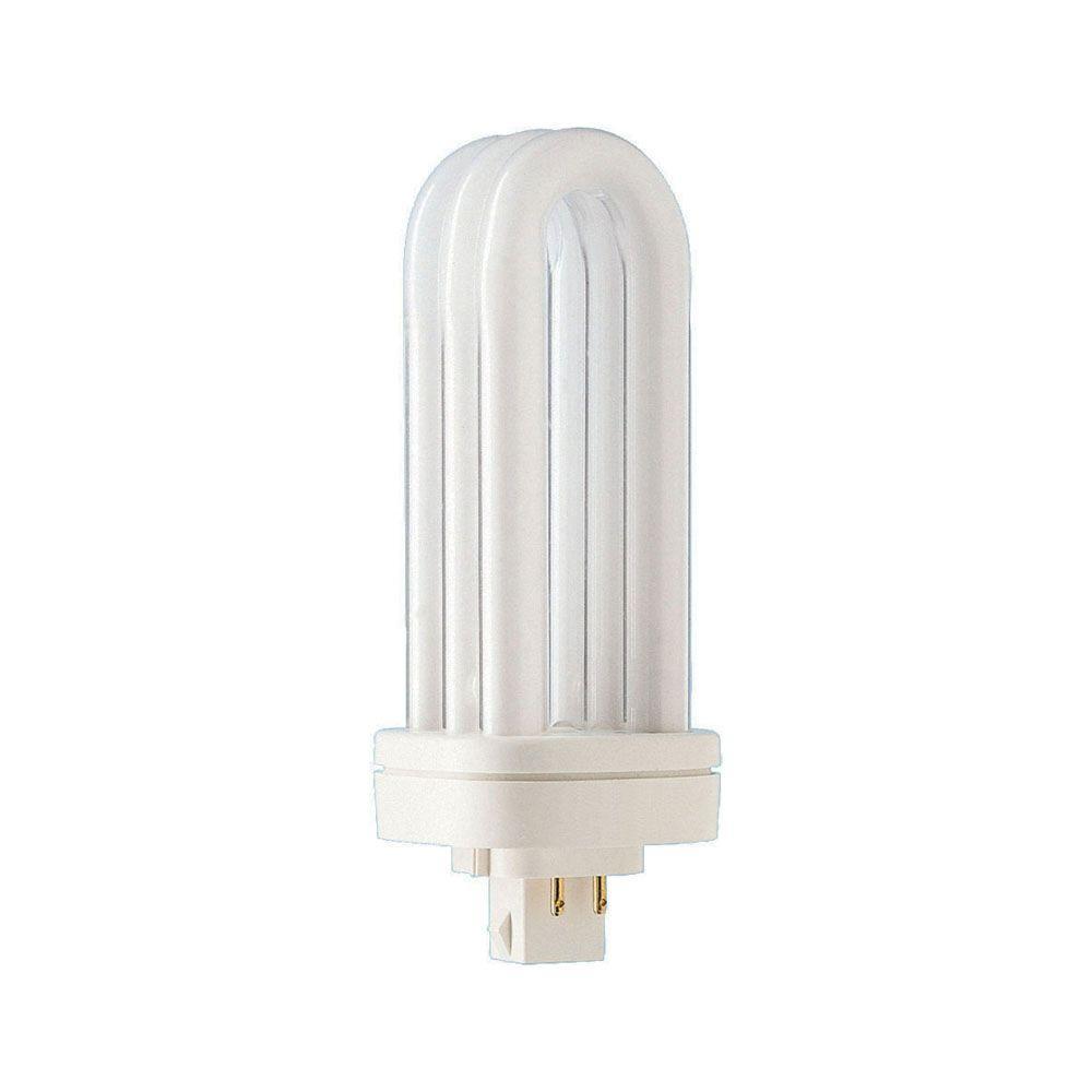 Philips 32-Watt Soft White (3000K) PL-T 4-Pin (GX24q-3) Energy Saver Compact Fluorescent (Non-Integrated) Light Bulb