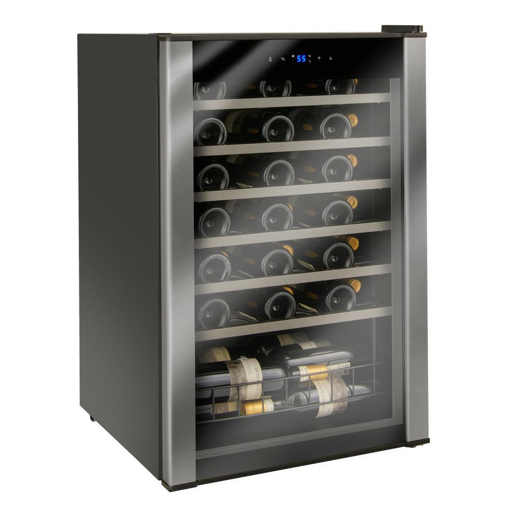 Wine Enthusiast Evolution 21-1/4 in. W 48-Bottle Wine Cellar