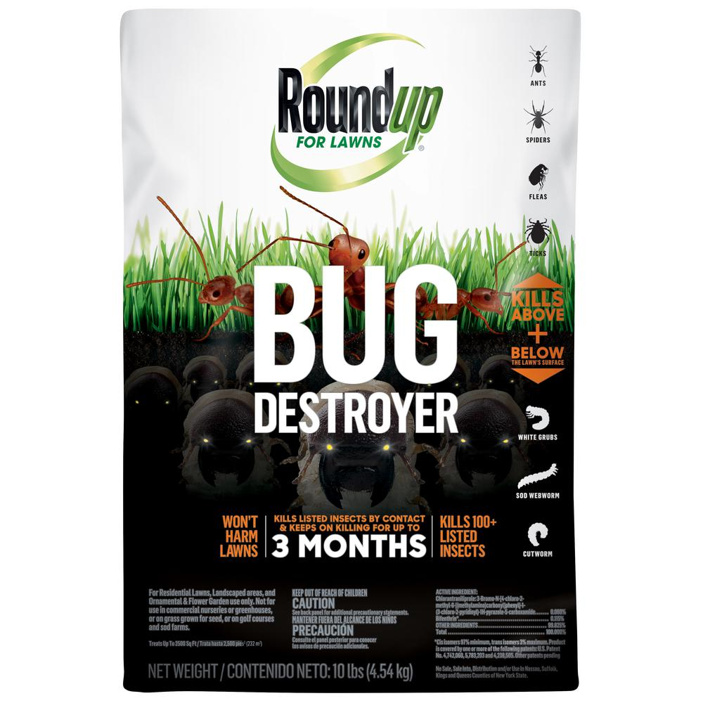 Roundup 10 lbs  Lawns Bug Destroyer