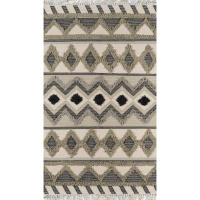 Indio Avalon Sage 7 ft. 6 in. x 9 ft. 6 in. Area Rug