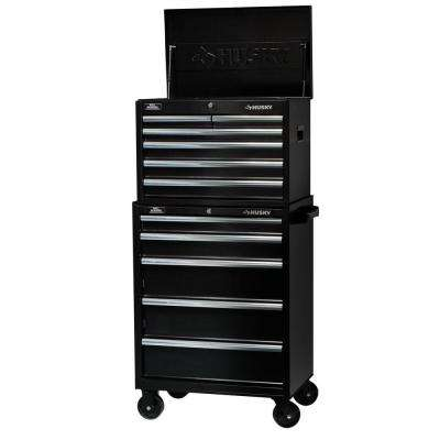 27 in. W 11-Drawer Tool Chest and Cabinet Set