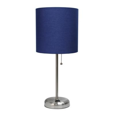 Modern Blue Table Lamps Lamps The Home Depot