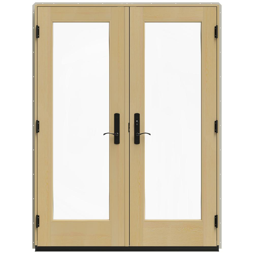 Jeld Wen 60 In X 80 In W 4500 Desert Sand Clad Wood Left