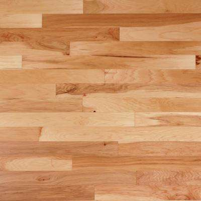 Take Home Sample - Scraped Vintage Hickory Natural Engineered Click Hardwood Flooring - 5 in. x 7 in.