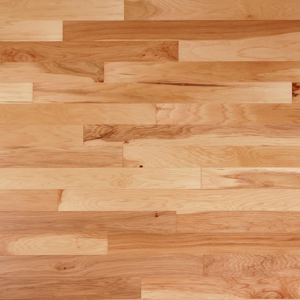Heritage Mill Take Home Sample Scraped Vintage Hickory Natural Engineered Click Hardwood Flooring 5 In. X 7 In.