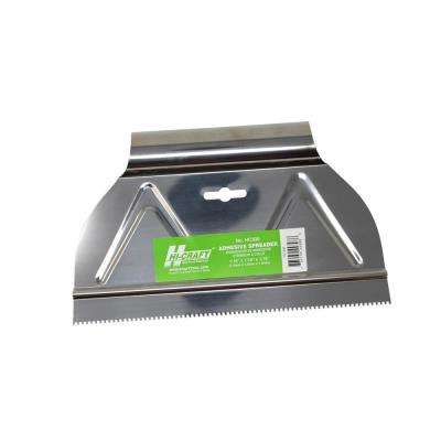 1/16 in. x 1/16 in. x 1/16 in. Square-Notch Adhesive Spreader