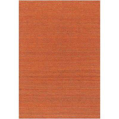 Amela Orange 7 ft. 9 in. x 10 ft. 6 in. Indoor Area Rug